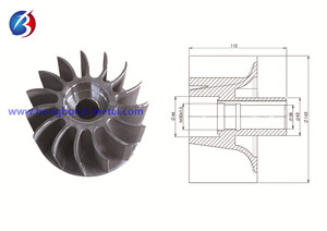 Pump parts _ pump impeller _vacuum pump impeller 04