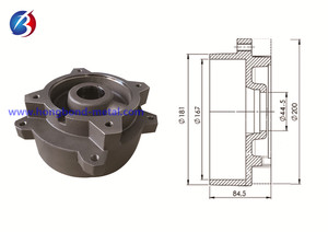 Pump parts _ pump casting _vacuum pump casting 03